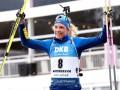 Эберг выиграла спринт в Контиолахти, Пидгрушная - в ТОП-10