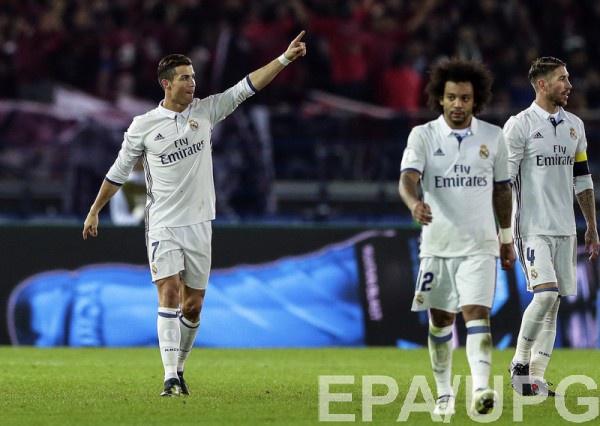 Роналду забил три гола в финале Клубного чемпионата мира