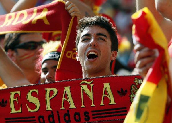 Испания ждет
