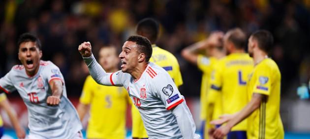 Испания спасла ничью в матче со Швецией и вышла на ЧЕ-2020