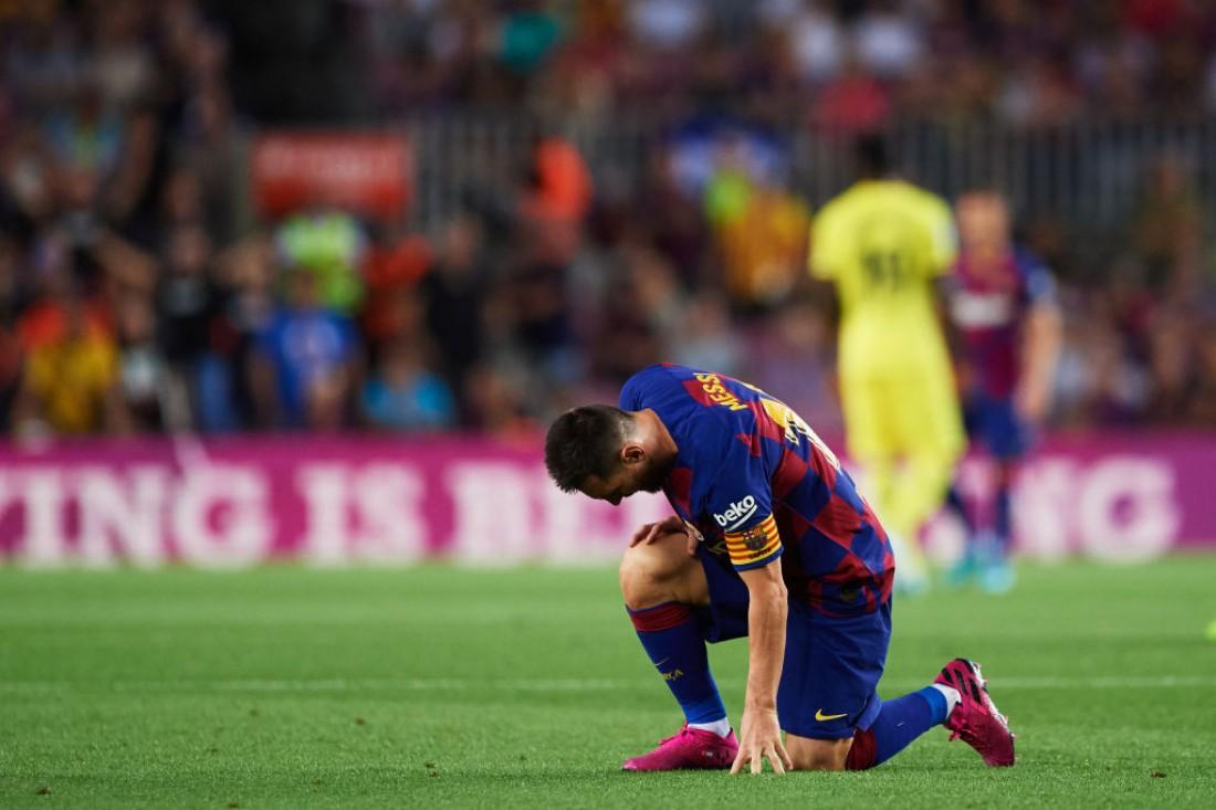 Лионель Месси получил травму в матче против Вильярреала