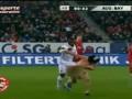 Обнаженный в кепке. Сольный номер стрикера на матче Аугсбург - Бавария