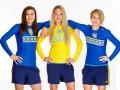 Игроки женской сборной Украины по футболу снялись в яркой фотосессии