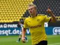 Холанд - автор первого забитого гола после возобновления Бундеслиги