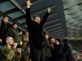 Президент Украины пришел на Олимпийский поддержать Динамо в битве с Эвертоном