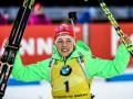 Биатлон: Коукалова победила в женском масс-старте, Пидгрушная - 15-ая