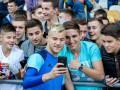 Селфи с фанатом: Как игроки сборной Украины фотографировались с болельщиками
