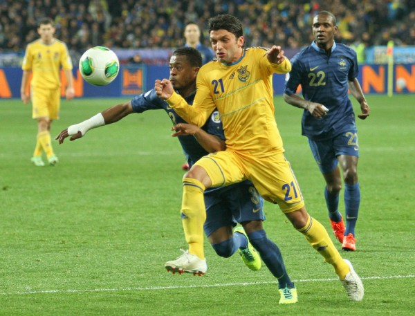 Погодные условия не обещают Украине и Франции легкого матча