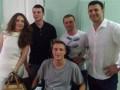 Главный тренер Динамо проведал раненых бойцов из зоны АТО