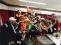 Игроки и тренерский штаб Зальцбурга весело отпраздновали победу над Лацио