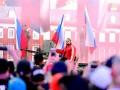 Американский рестлер приехал на бой на танке с российским флагом и проиграл