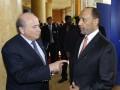 Соперника Блаттера в борьбе за пост президента FIFA обвиняют в коррупции