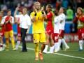 Шмейхель признан лучшим игроком матча Хорватия - Дания