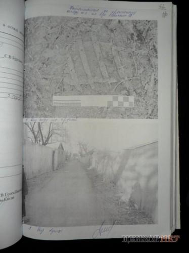 След, который был найден возле дома на улице Ковельской, 12 (файл s4)