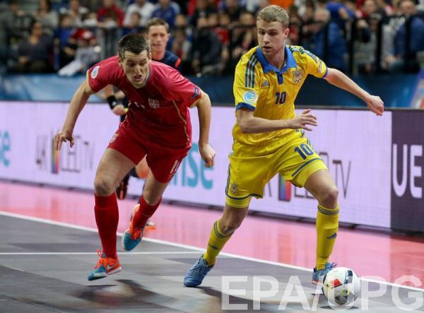 Сборная Украины потерпела обидное поражение на последних секундах
