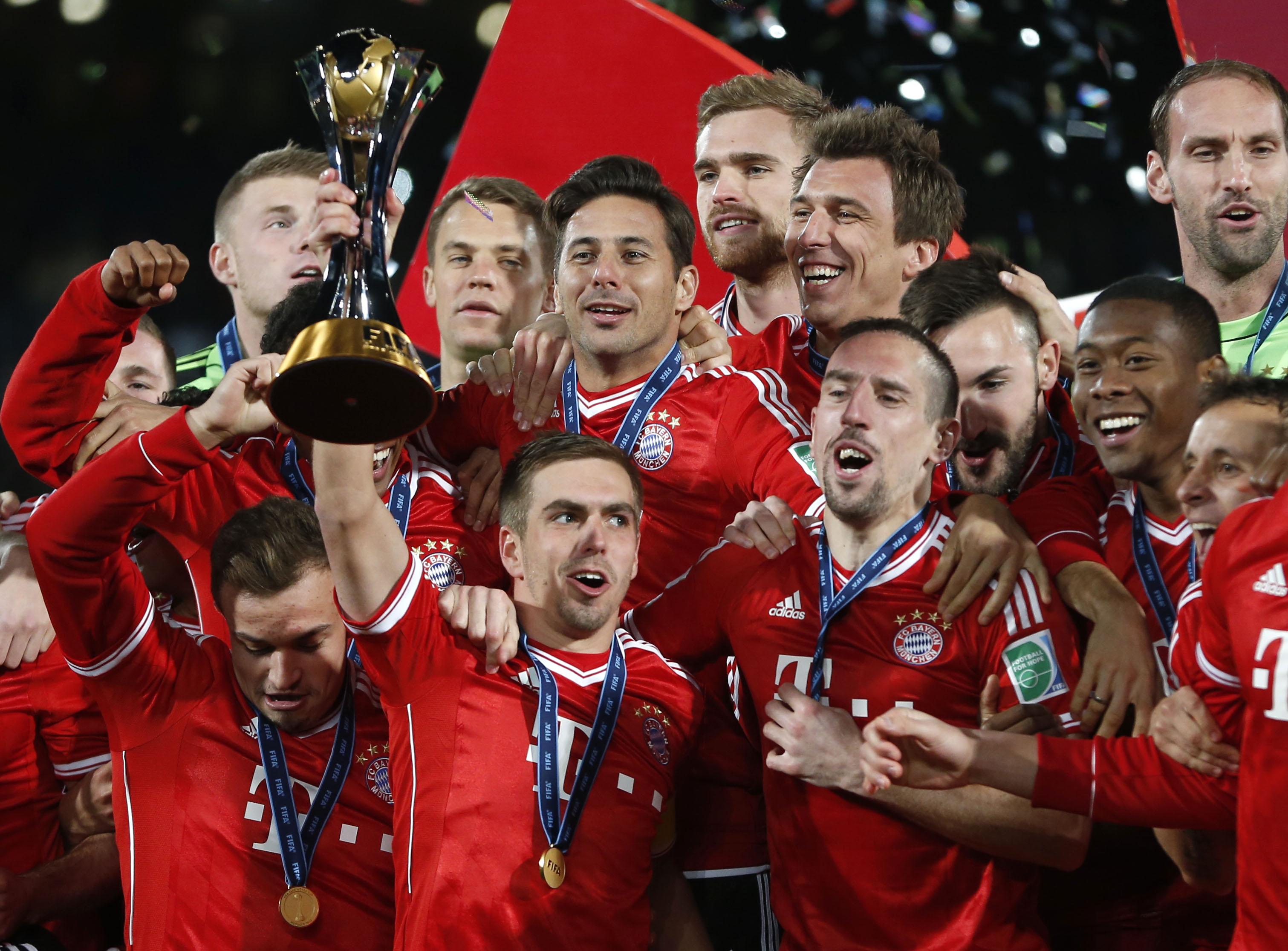 Бавария признана лучшей командой мира