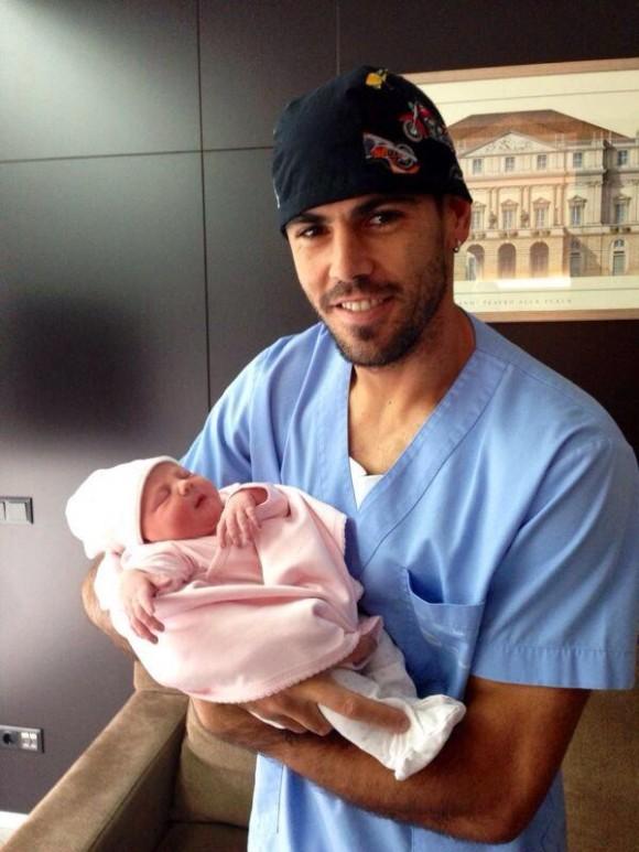 Вальдес в третий раз стал отцом