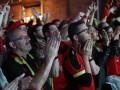 Бельгийские болельщики организовали фанатам из Уэльса