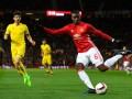 Погба рассмешил соцсети бессмысленным ударом и ужасным пасом в матче Лиги Европы