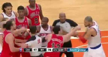 Четыре удаления в одном матче NBA