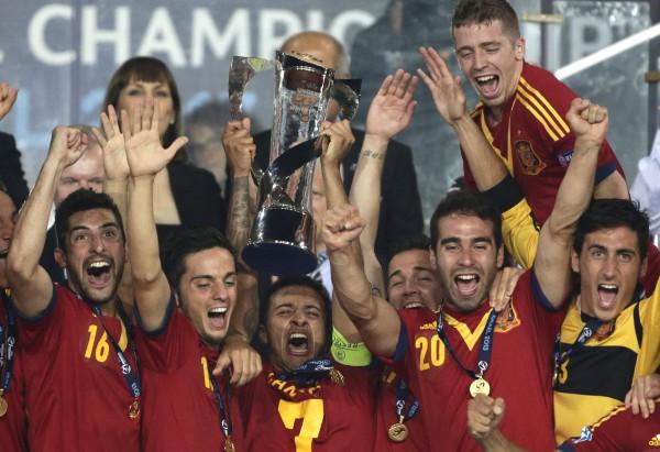 Сборная Испании выиграла молодежное Евро-2013