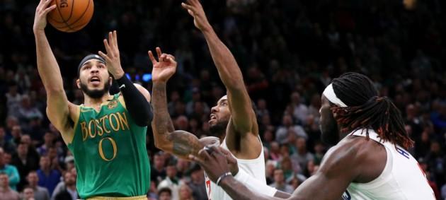 НБА: Бостон в овертайме переиграл Клипперс, Новый Орлеан уступил Оклахоме