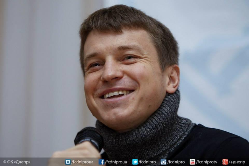 Руслан Ротань заказал Деду Морозу чемпионство для Днепра