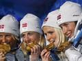 Эстафета: Марит Бьерген становится первой трехкратной Олимпийской Чемпионкой Ванкувера