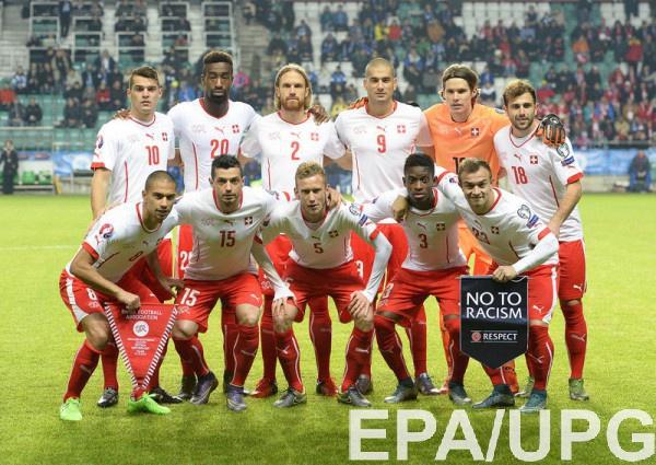 Швейцария огласила предварительный состав на Евро-2016