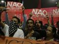 В Бразилии опять вспыхнули протесты против ЧМ-2014 (ФОТО)