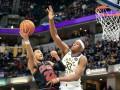 НБА: Индиана разгромила Чикаго, Торонто уступил Хьюстону