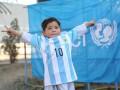 Месси передал для афганского мальчика футболку с автографом