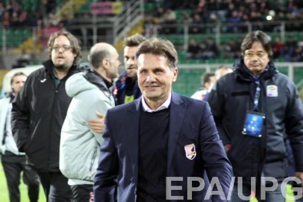 В Палермо уволили очередного тренера