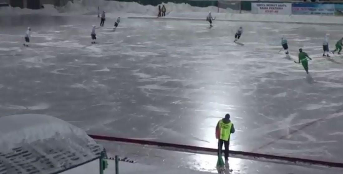 Матч Водник - Байкал-Энергия