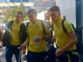 Сборная Украины прилетела в Албанию на матч против Косово