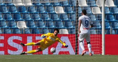 Сассуоло — Аталанта 1:1 видео голов и обзор матча чемпионата Италии