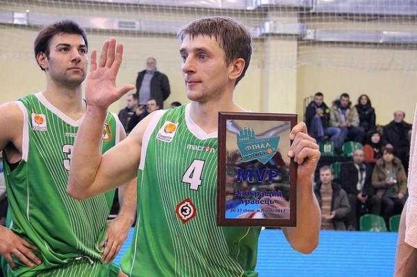 Александр Рыбалко был лучшим на площадке