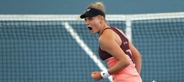 Ястремская вышла в полуфинал турнира в Аделаиде