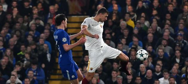 Челси и Рома сыграли в результативную ничью