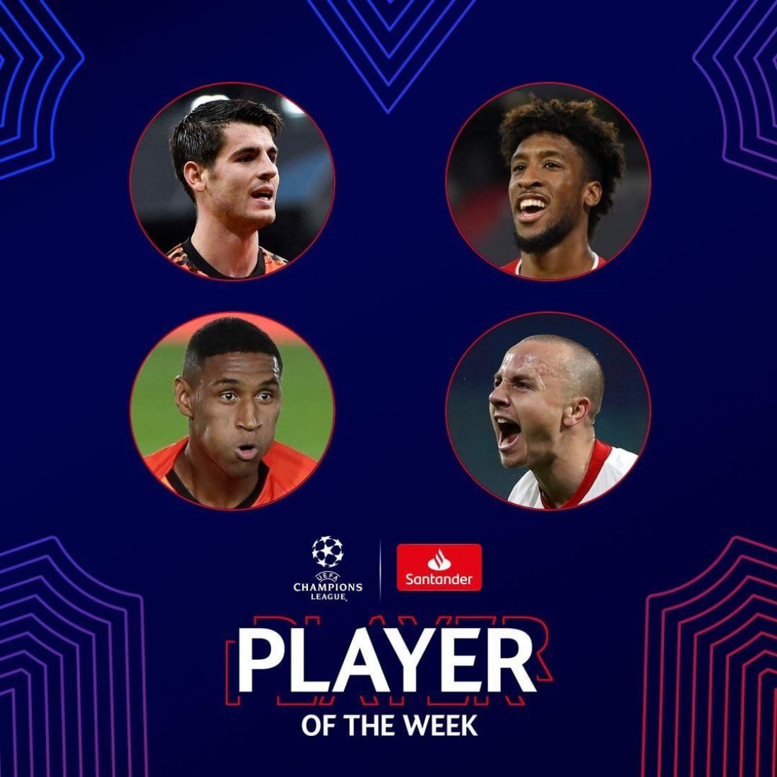 Лучшие игроки недели в Лиге чемпионов