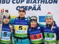 Украина опередила Россию и взяла бронзу в эстафете на Кубке IBU