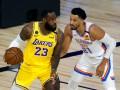 НБА: Лейкерс крупно уступили Оклахоме, Юта оказалась сильнее Мемфиса