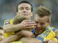 Футболисты сборной Украины не получили премию за первые матчи отбора Евро-2016