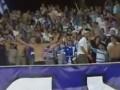 Фанаты Динамо Тбилиси во время матча Лиги чемпионов спели хит про Путина