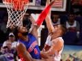 Видео эффектного данка украинца Леня в НБА