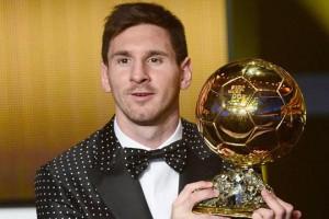Месси в четвертый год подряд признан лучшим футболистом мира