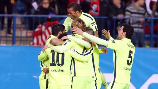 Барселона вышла в 1/2 финала Кубка Испании