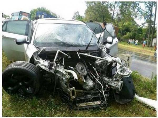 Разбитая машина Хуан Итурбе