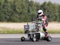 Автоспорт для чокнутых: Реактивная тележка и унитаз с мотором