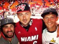 Любитель баскетбола? Артем Милевский побывал на матче Майами Хит
